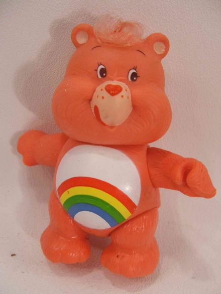 VINTAGE CHEER CARE BEAR POSEABLE